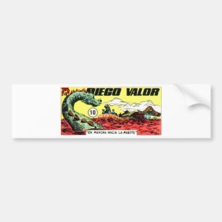 Diego Valor and the Sea Monster Bumper Sticker