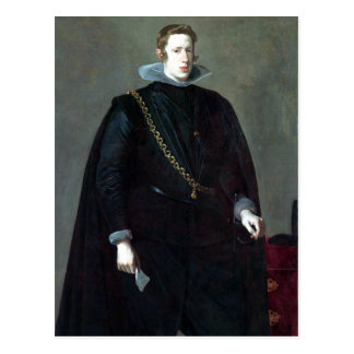 Diego Velázquez Philip IV, King of Spain Postcard