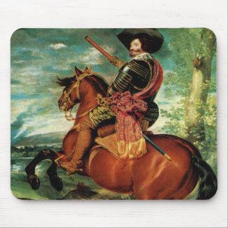 Diego Velázquez - retrato de Gaspar de Guzmán Alfombrilla De Ratones