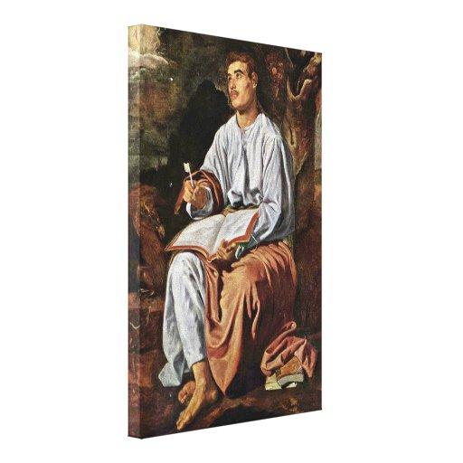 Diego Velázquez - St John el evangelista Lienzo Envuelto Para Galerias