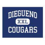 Diegueno - Cougars - Junior - Encinitas California Post Cards