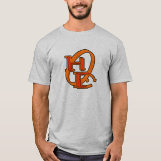 Diehards Gamer Graphic Chest Orange Your Gamertag T-Shirt