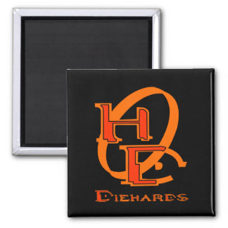 Diehards Gamer Graphic Magnet