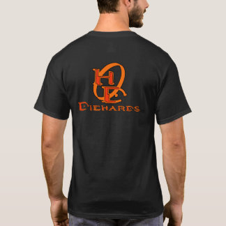 Diehards Gamer Graphic on Back T-Shirt