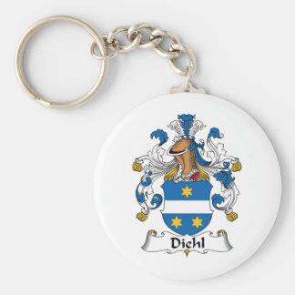 Diehl Family Crest Keychain