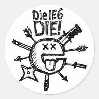 DieIE6DIE Sketchnote Sticker