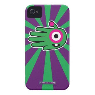 Diente de bebé extranjero amistoso verde Case-Mate iPhone 4 protector