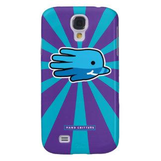 Diente de la ballena de Narwhal del bebé azul Funda Para Galaxy S4