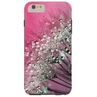 Diente de león de las rosas fuertes funda resistente iPhone 6 plus