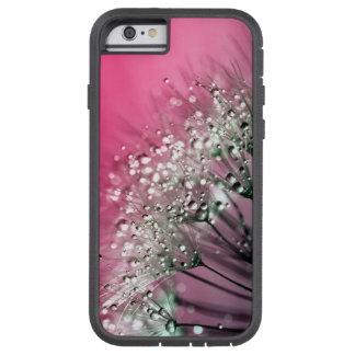 Diente de león de las rosas fuertes funda tough xtreme iPhone 6