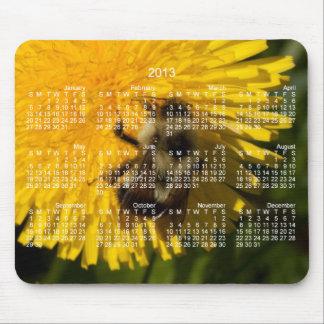 Diente de león Pollenator; Calendario 2013 Tapete De Ratón