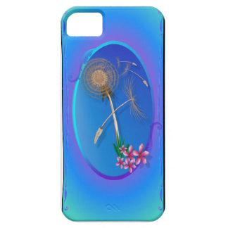 Diente de león-Primeras semillas ovales iPhone 5 Case-Mate Funda