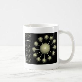 Diente de león tazas de café