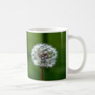 Diente de león taza de café