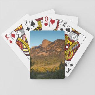 Diente del tiempo, rancho del explorador de barajas de cartas