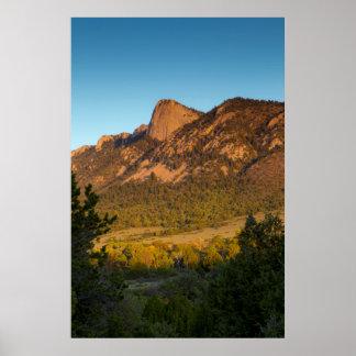 Diente del tiempo, rancho del explorador de posters