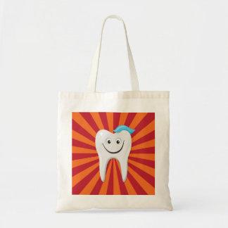 Diente feliz bolsa de mano
