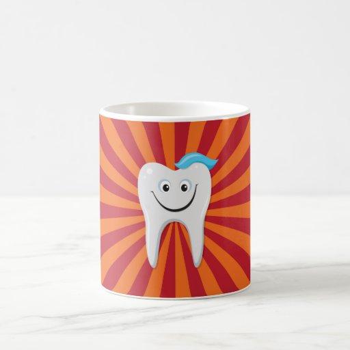 Diente feliz tazas