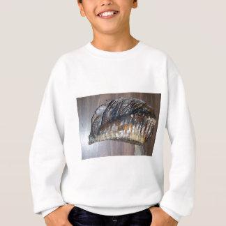 diente gigantesco impresionante sudadera