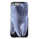 Diente, ilustraciones del ordenador de un diente funda barely there iPhone 6