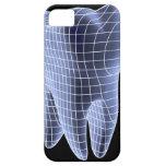 Diente, ilustraciones del ordenador de un diente funda para iPhone SE/5/5s