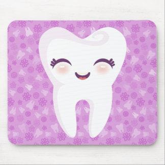 Diente lindo - Mousepad adaptable púrpura
