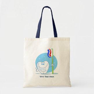 Diente sonriente (personalizable) bolsas