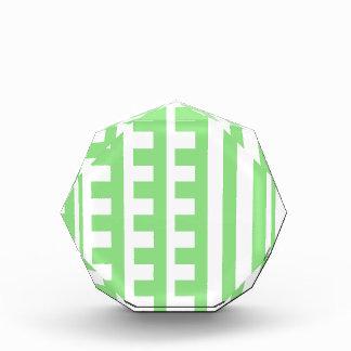 Diente verde claro de los peines