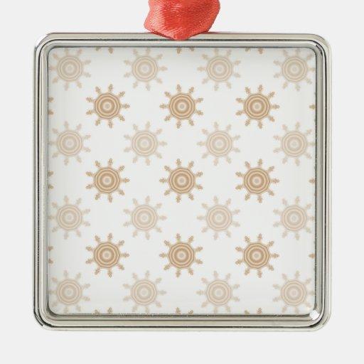 Dientes de la rueda de Brown. El fractal circunda  Ornaments Para Arbol De Navidad