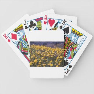 Dientes de león baraja cartas de poker