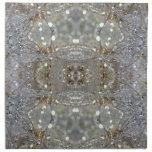 Dientes de león cristalizados servilleta
