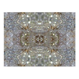 Dientes de león cristalizados postales