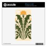 Dientes de león skins para eliPhone 4