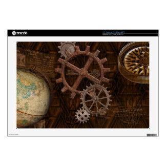 Dientes de Steampunk, engranajes y diseño del Portátil Calcomanías