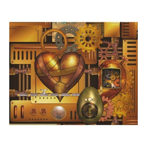 Dientes del corazón - SRF Impresión En Lienzo Estirada