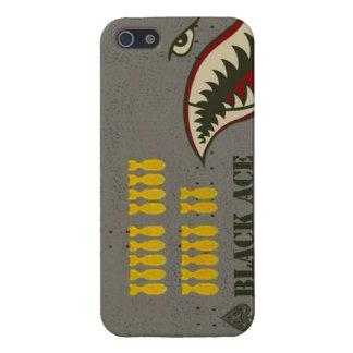 Dientes del tiburón del bombardero WW2 iPhone 5 Funda