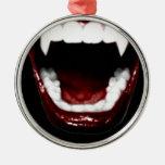 """""""Dientes del vampiro """" Ornamento Para Arbol De Navidad"""