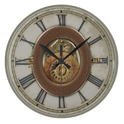 Dientes oxidados Steampunk del vintage Relojes