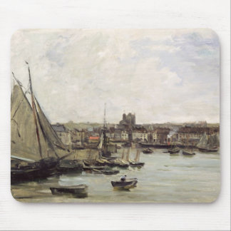 Dieppe, 1875 (oil on panel) mouse pad