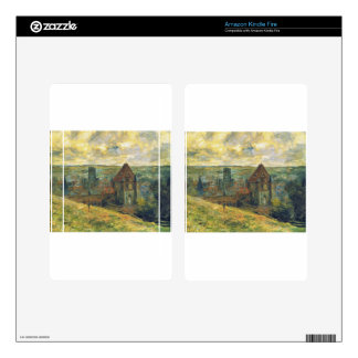 Dieppe by Claude Monet Decals For Kindle Fire