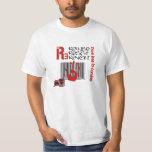 Dies irae - Refuses Resist Revolt Tee Shirt