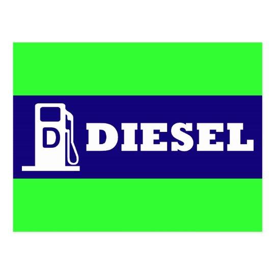 Diesel 2 postcard