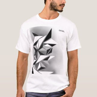 DIESEL- ABSTRACT  T-SHIRT