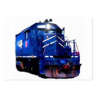 Diesel azul tarjetas de visita grandes
