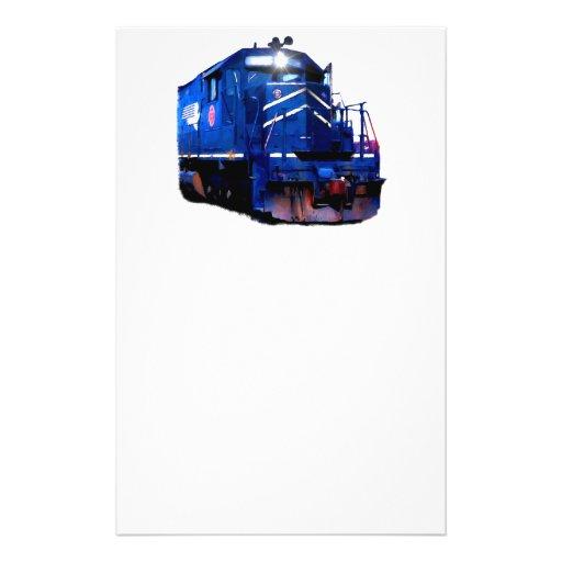 Diesel azul tarjetón