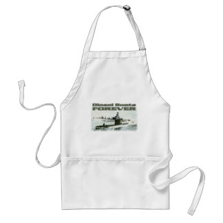 Diesel Boats Forever Adult Apron
