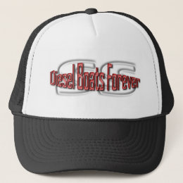 Diesel Boats Forever -- SS Trucker Hat