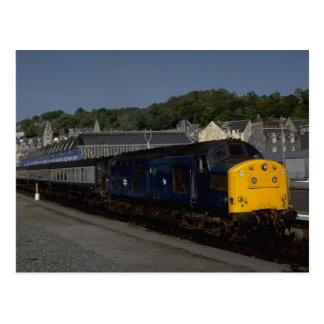 Diesel británico de la clase del delta de Rys Postal