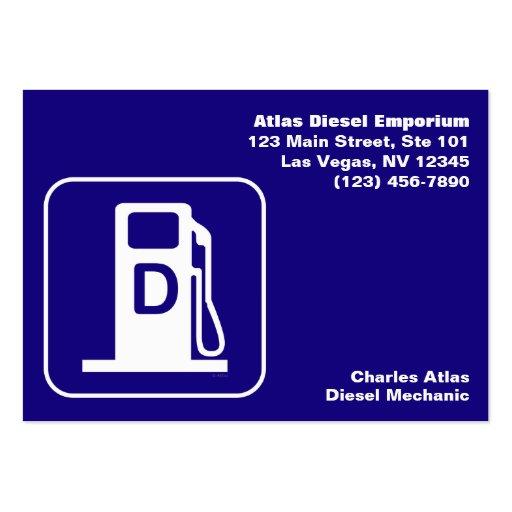 Diesel Business Card Templates Bizcardstudio