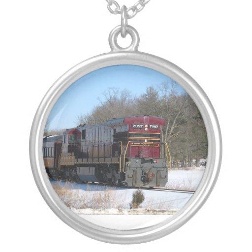 Diesel en collar del invierno